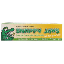 Nature's Goodness Snappy Jaws Toothpaste Pineapple 75g