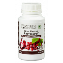 Nature's Goodness Bioactivated Resveratrol 500 mg 60 Capsules