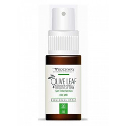 Rochway Throat Spray Olive Leaf Mint 30 ml