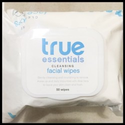 True Essentials Face Cleanser and Facial Wipes