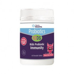 Henry Blooms Kids Probiotic Immunity Berry Flavour 60 Chew able Tablets
