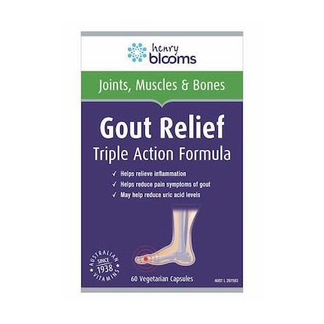 Henry Blooms Gout Relief