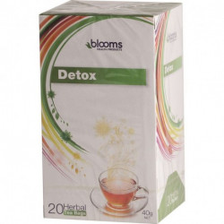 Henry Blooms Herbal Tea Bags - Detox 20 Tea Bags Each ( Carton - 10 Packets )