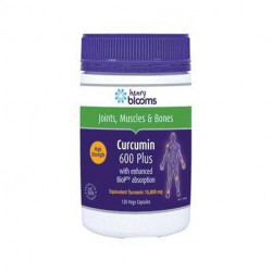 Henry Blooms Curcumin 600 Plus with BioP (Black Pepper Extract) 120 Capsules