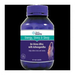 Henry Blooms De-Stress Ultra with Ashwagandha 60 Capsules