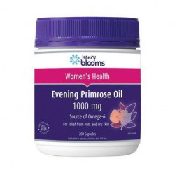 Henry Blooms Evening Primrose Oil 1000 mg 200 Capsules