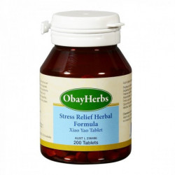 Xiao Yao Tablet (ObayHerbs) - Stress Relief 200 Tablets