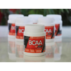 BCAA capsules ( Plant Based ) 50 Capsules EACH ( 6 Bottles )