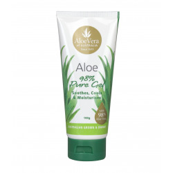ALOE VERA OF AUSTRALIA Aloe Gel Tube 100g