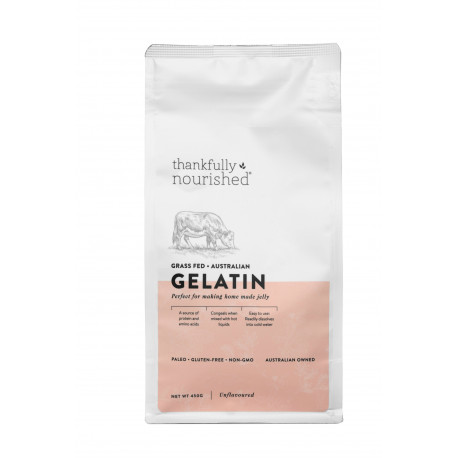 Thankfully Nourished Australian Gelatin 450g NEW! TRY IT!