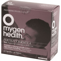 Mygen Health Fertility Formula Male 30t + 30c