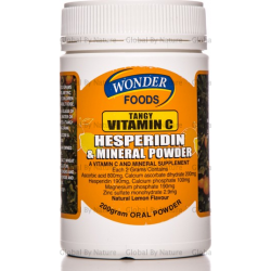Wonder Foods Tangy Vitamin C with Hesperidin 200g
