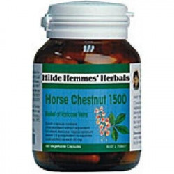 Hilde Hemmes Herbal's Horse Chestnut 1600mg 60 VCaps